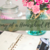 The Anatomy of a Homeschooling Planner